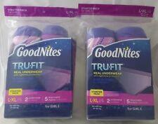 Set of 2 Good Nites Tru Fit starter packs Size L-XL NEW potty training