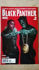 BLACK PANTHER #2 SECOND PRINT RUN THE JEWELS VARIANT MARVEL COMICS (2016)