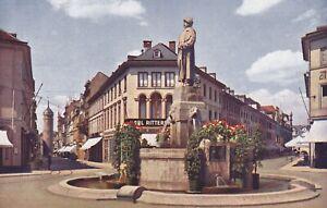 AK - Postkarte - Darmstadt /  Bismarckdenkmal - Ludwig- und Ernst Ludwigstrasse