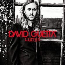 David Guetta Listen 180g w/download vinyl LP NEW sealed