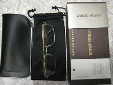 Authentic Giorgio Armani Eyeglasses AR5003T 3002 Matte Pale Gold Frames 53MM Rx