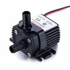 12v Dc 65 gph Water Pump for PC Water liquid Cooling Solar fountain Swamp Cooler