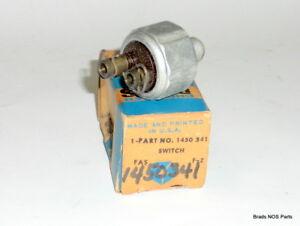 NOS Mopar 1937-1952 Plymouth Chrysler Dodge Pare Ligero Interruptor Pn 1450341