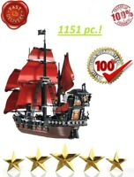 Ideas Pirates Of The Caribbean Queen Anne's Revenge Ship Building Blocks 16009