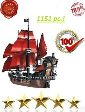 Ideas Pirates Of The Caribbean Queen Anne's Revenge Ship Building Blocks 16009