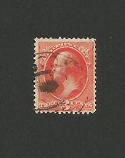 U.S.A. États-Unis d'Amérique   timbre 3 c G. Washington de 1890 / T140