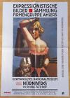 GERMAN EXHIBITION POSTER 1996 - MAX BECKMANN - WARDROBE EXPRESSIONIST  art print