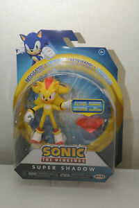 Sonic The Hedgehog Super Shadow 4 Inch Jakks Action Figure with Ruby