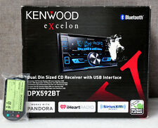Kenwood DPX592BT Car Stereo AM FM CD USB DPX 592 with Remote.