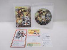 PlayStation3 -- Shin Sangoku Musou 7 -- PS3. JAPAN GAME. Works fully!! 60917