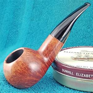 EXCELLENT! Savinelli DELUXE MILANO 320 CHUBBY BANKER Italian Estate Pipe CLEAN