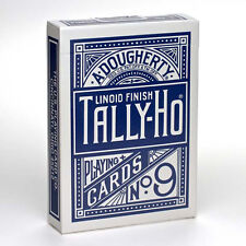 Mazzo di carte Tally Ho - Circle Back - Mazzo regolare formato poker - dorso Blu