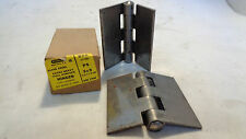 New In Box Of 2 Stanley 850 3x3 Ps Plain Steel Extra Heavy Hinges