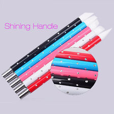 Hot 5Pcs Nail Art Pen Brushes Silicone Carving Craft Supplies Pottery Sculpture