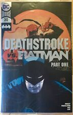 DEATHSTROKE 30 C2E2 EXCLUSIVE FOIL VARIANT! STILL IN POLYBAG! NM.