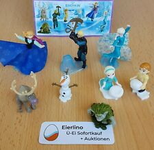 "Top Kinder Surprise Set - Disneys Frozen - Mint Condition 1.3"" figurines"