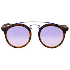 Ray Ban Lilac Gradient Mirror Round Sunglasses RB4256