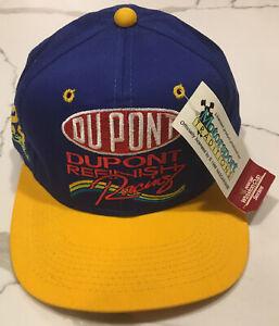 Vintage Jeff Gordon Snapback Hat Dupont Refinish Racing Cap NWT NASCAR