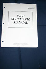 Williams Pinball Wpc platform Schematic manual (#Man202)