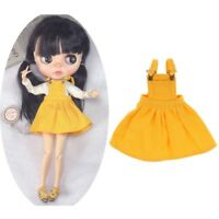 aed973368 Stylish Yellow Suspenders Skirt Dress Clothes for Blythe Takara Licca Dolls