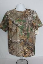 Mens T Shirt Size Large 42 - 44 Camo Silky Top RealTree Extra Camouflage Hunting