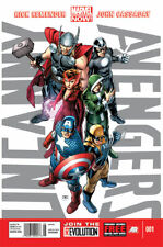 Uncanny Avengers #1 #2 (2013) Marvel Comics