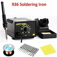 Adjustable Electric Soldering Irons Solder Tin Wire Tips Phone Repairs Tools Kit