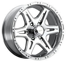 4-NEW Ultra 208P Badlands 16x8 5x135 +10mm Polished Wheels Rims
