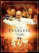 FEARLESS Movie POSTER 11x17 D Jet Li Jon T. Benn Collin Chou Anthony De Longis