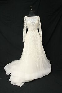 Lazaro 3709 Bridal Wedding Gown Dress sz 12