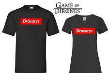 T-SHIRT DRACARYS TRONO DI SPADE GAME OF THRONES DAENERIS TARGARYAN SUPREME