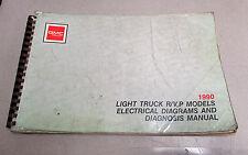 1990 GMC R/V P Light Duty Truck Diagrams Diagnosis Electrical Manual