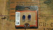 Harley Davidson Blue Wedge Light Bulb T-10 12V .27A 75182-01 Shovelhead