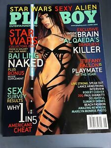 Playboy Magazine June 2005 Collectors Issue Star Wars Bai Ling