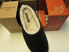 Men's Black Clog Slippers by Dockers, Size Medium (8-9), NEW