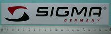 Sigma Sticker Aufkleber Mountainbike Downhill Freeride Rennrad Racer (SIG003)