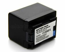 3000mAh BP-727 Battery For Canon VIXIA HF R30 R32 R40 R42 R50 R52 R300 R400 R500