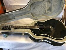 Ovation Celebrity GC057 Acoustic Electric Guitar Shallow (Black) w/ Hard Case