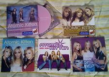 Atomic Kitten French lot fance it's ok whole again promo you are tide is high be