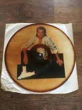 ❣RARE❣UNCUT PICTURE DISC•The Last Kiss~David Cassidy ft George Michael (Wham!)