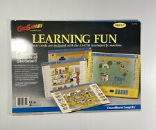 1991 Vintage GeoSafari Learning Fun Set EI-8759 10 Cards 20 Lessons Ages 4 - Up