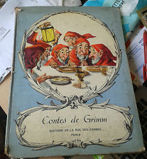 GRIMM. Contes de Grimm.  Editions de la rue des carmes. 1958.