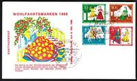 1965 CHARITY Stamps BERLIN Germany First Day Cover (F5401y)
