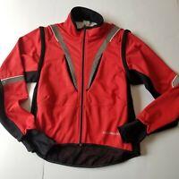 GSG Giessegi  Women's M Full Zip Cycling Jacket Long Slv Jersey Convert Sleeve