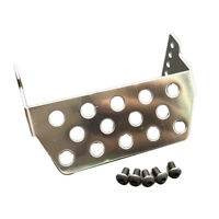Stainless Steel Protector Skid Plate Sets For 1/10 Traxxas TRX-4 Racing RC Car