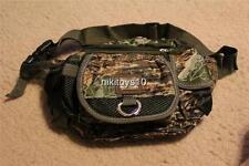 Camp Camo Fanny Pack 5 Pocket Travel Waist Belt Bag Cell Phone Holder WaterProof