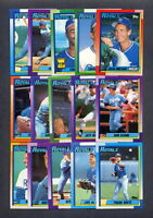 1990 Topps Kansas City Royals TEAM SET (33) w/ Traded