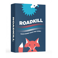 ROADKILL - THE GAME OF CHEAP SHOTS AND PAYBACK! FUN FAMILY CARD GAME HELVETIQ