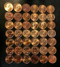 Old Australia Coin Lot - Cent - 42 Red Uncirculated Coins - Lot #N28