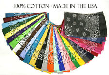 Hav-A-Hank USA Made 100% Cotton Paisley Bandannas Bandanas 22